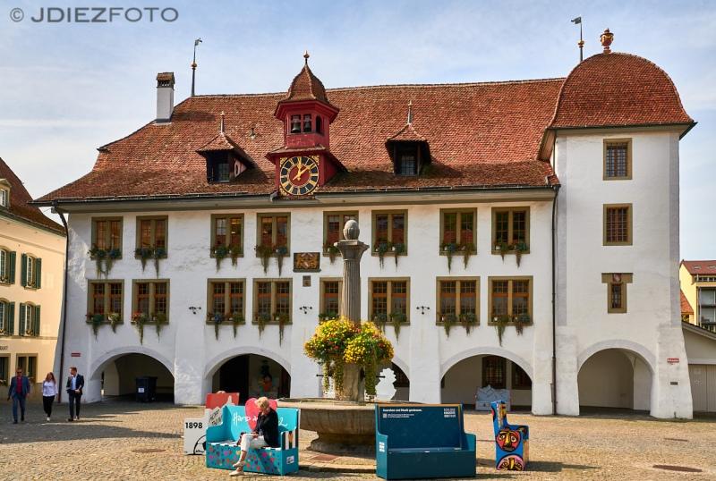 Plaza del Ayuntamiento de Thun
