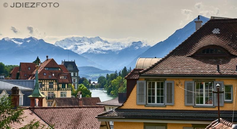 Vistas desde el Castillo de Thun