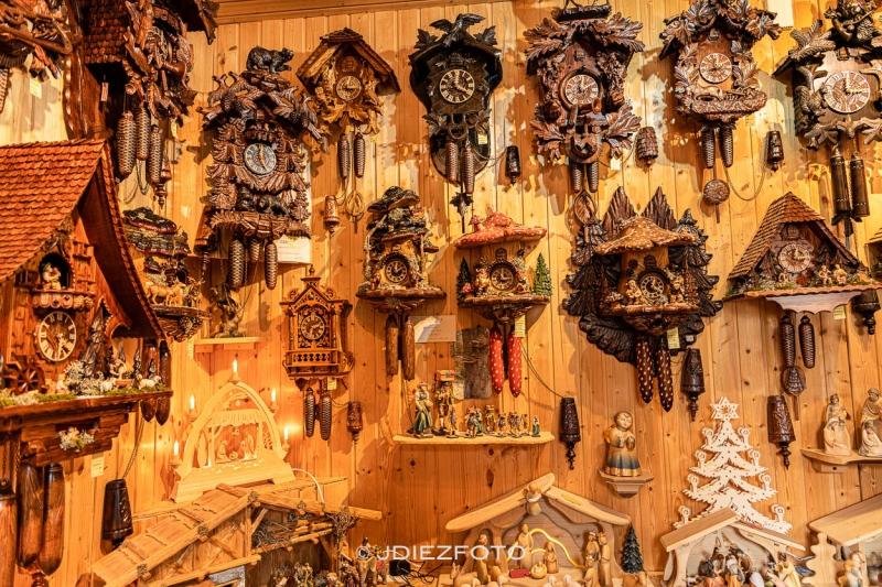 Relojes de cuco en Triberg. Selva Negra