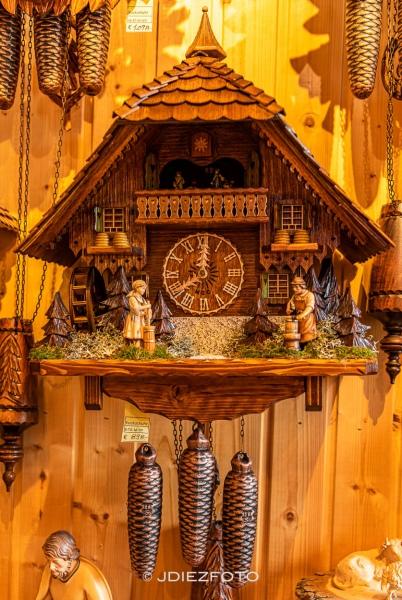 Reloj de cuco en Triberg. Selva Negra
