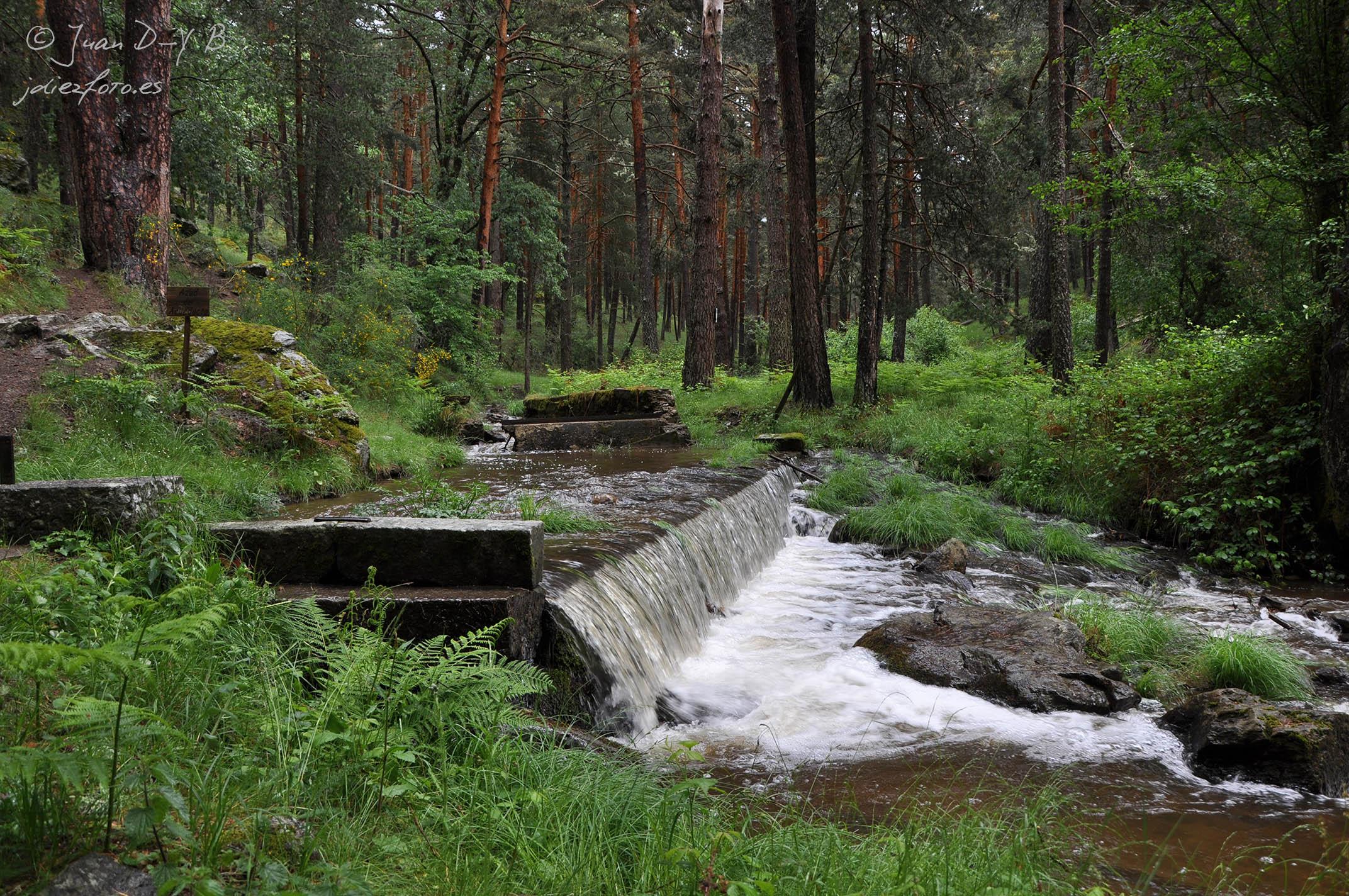 Inicio del Acueducto de Segovia (Revenga)