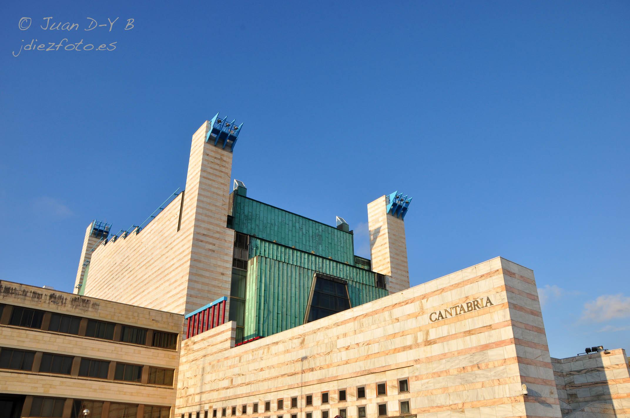 El Palacio de Festivales de Santander