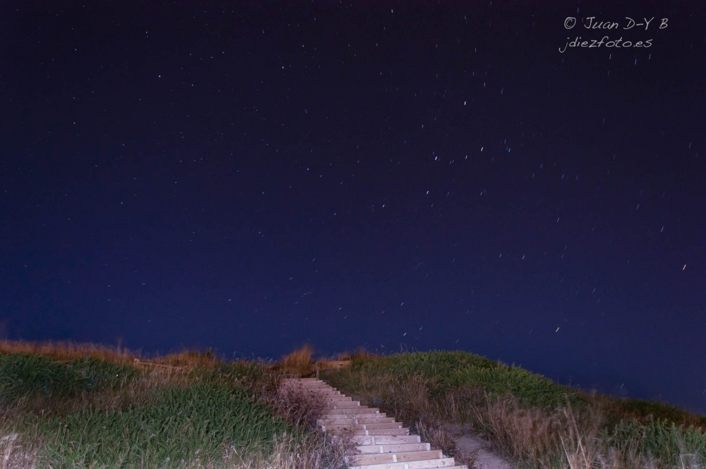 Fotografía nocturna en Cabo Mayor