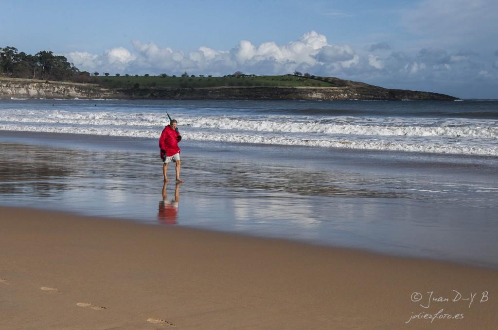 De paseo por la Playa del Sardinero