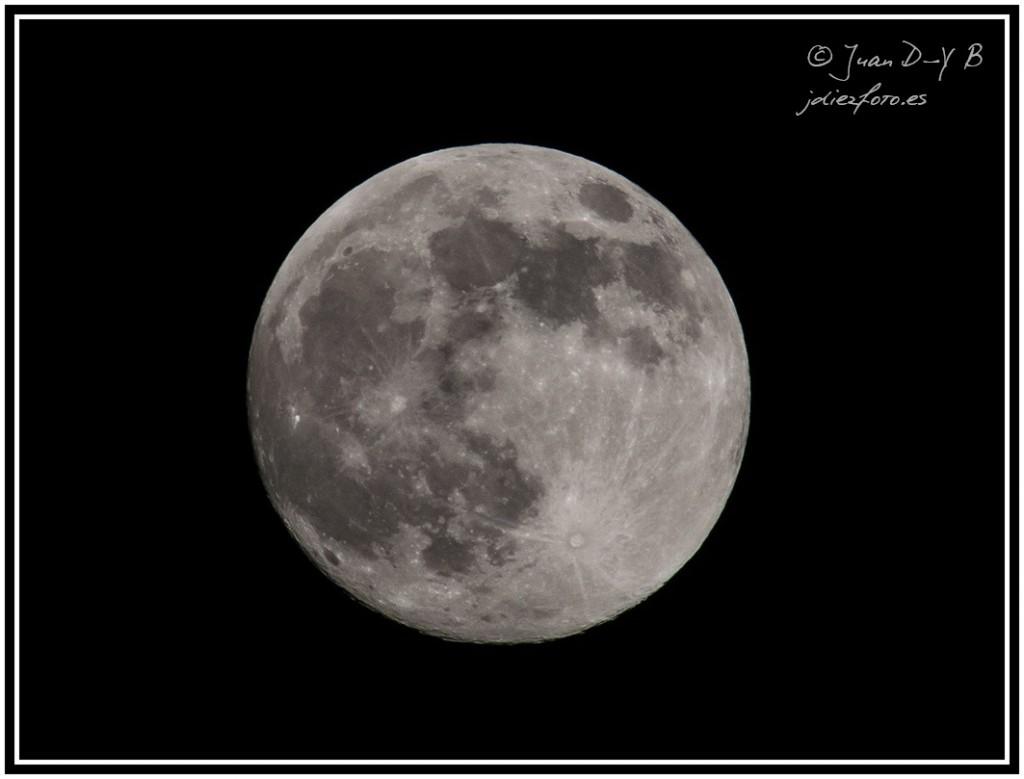 Fotografia de la luna