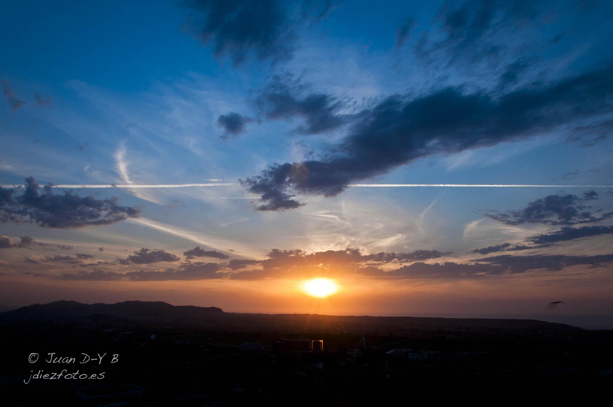 Las puestas de sol desde el mirador de Peñacastillo
