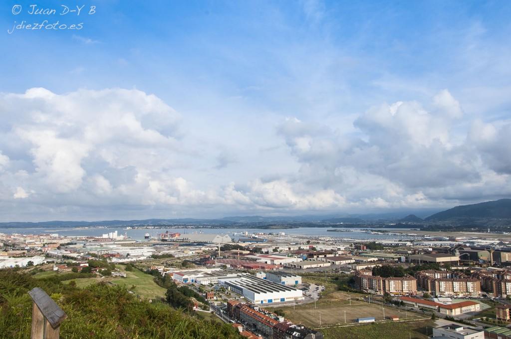 Bahía de Santander desde Peñacastillo