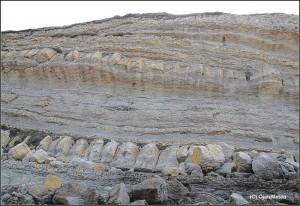 Cala del Madero Corte Geológico