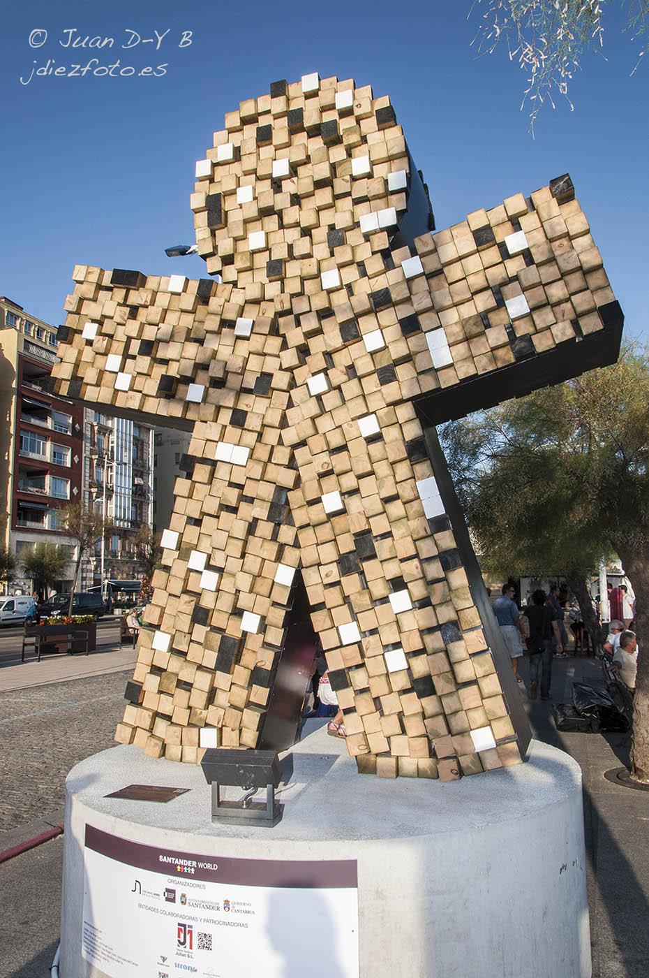 Mundial de Vela 2014. Cinco esculturas para cinco continentes