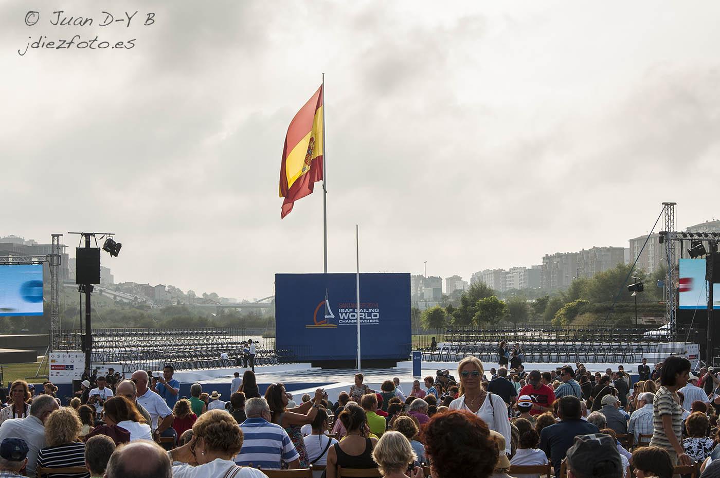 Gala de Inauguración Oficial del Mundial de Vela 2014 en Santander