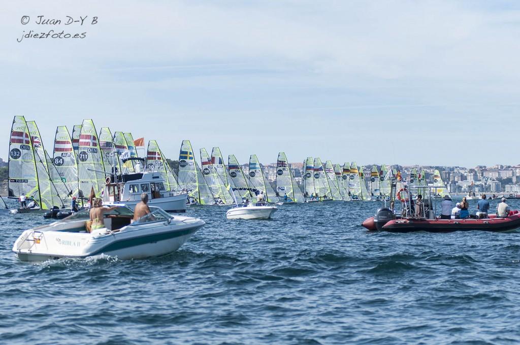 Regata 49er Mundial de Vela 2014 Santander
