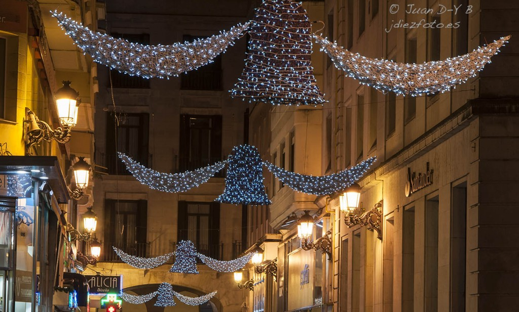 Iluminación Navideña en Santander