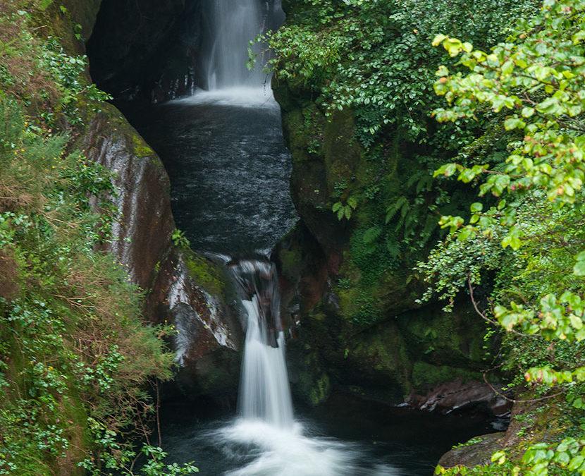 Cascada del Pozo del Amo. Reserva del Saja