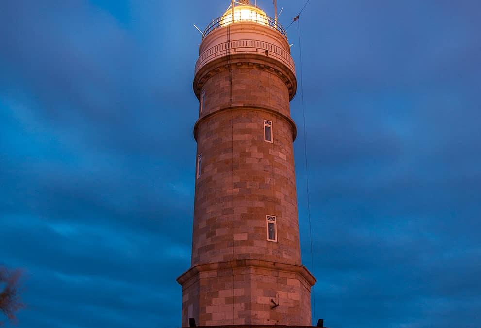 Anochece en el Faro de Cabo Mayor
