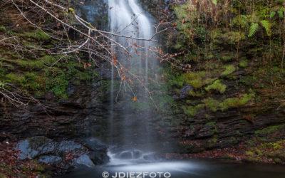 Conociendo las Cascadas de Lamiña. Arroyo de Barcenillas.
