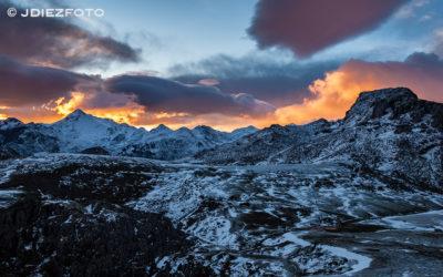 Amanecer en los Lagos de Covadonga