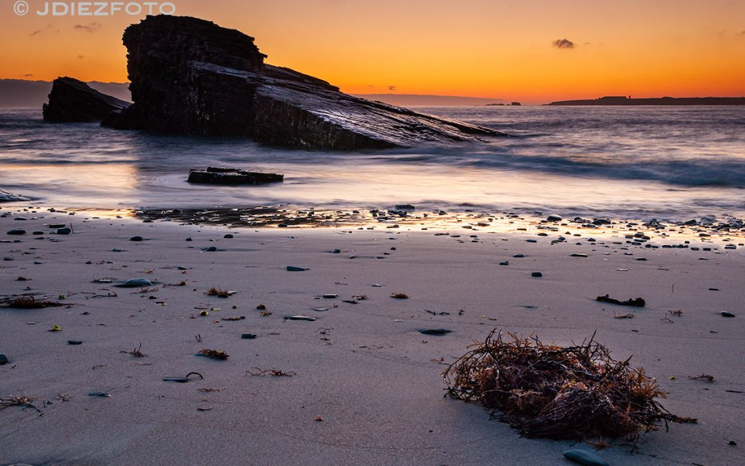 Amanecer en Praia das Illas