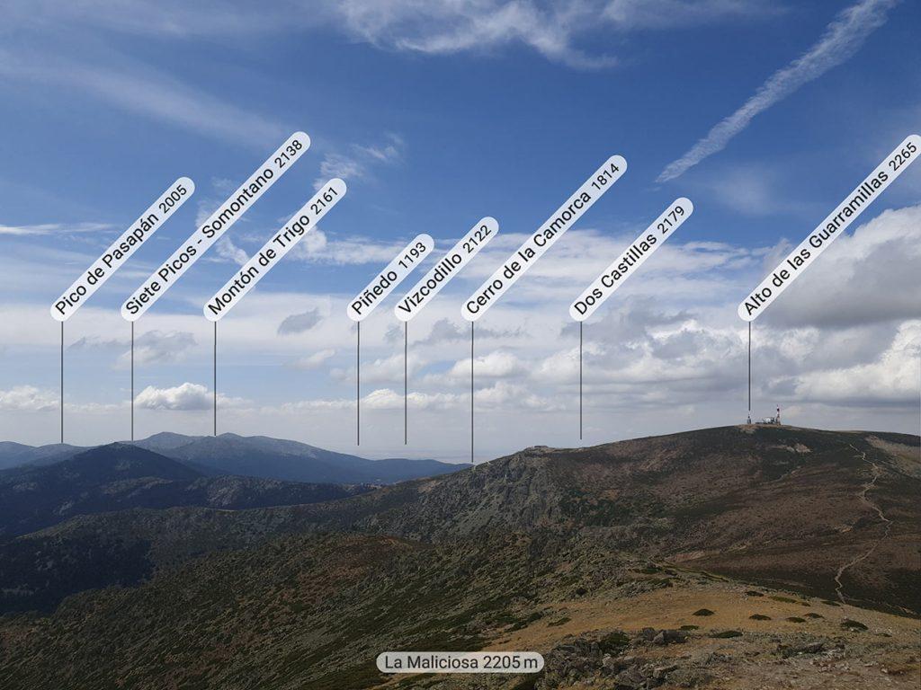 Pico de la Maliciosa. Norte