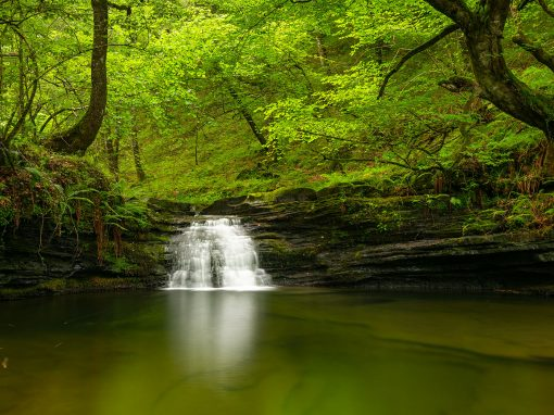 Cascadas de Viaña