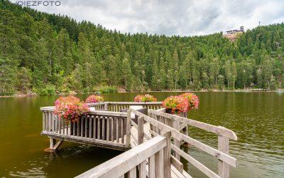Lago Mummelsee en la Selva Negra