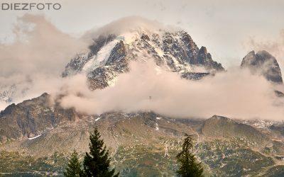 Macizo del Mont Blanc desde Chamonix