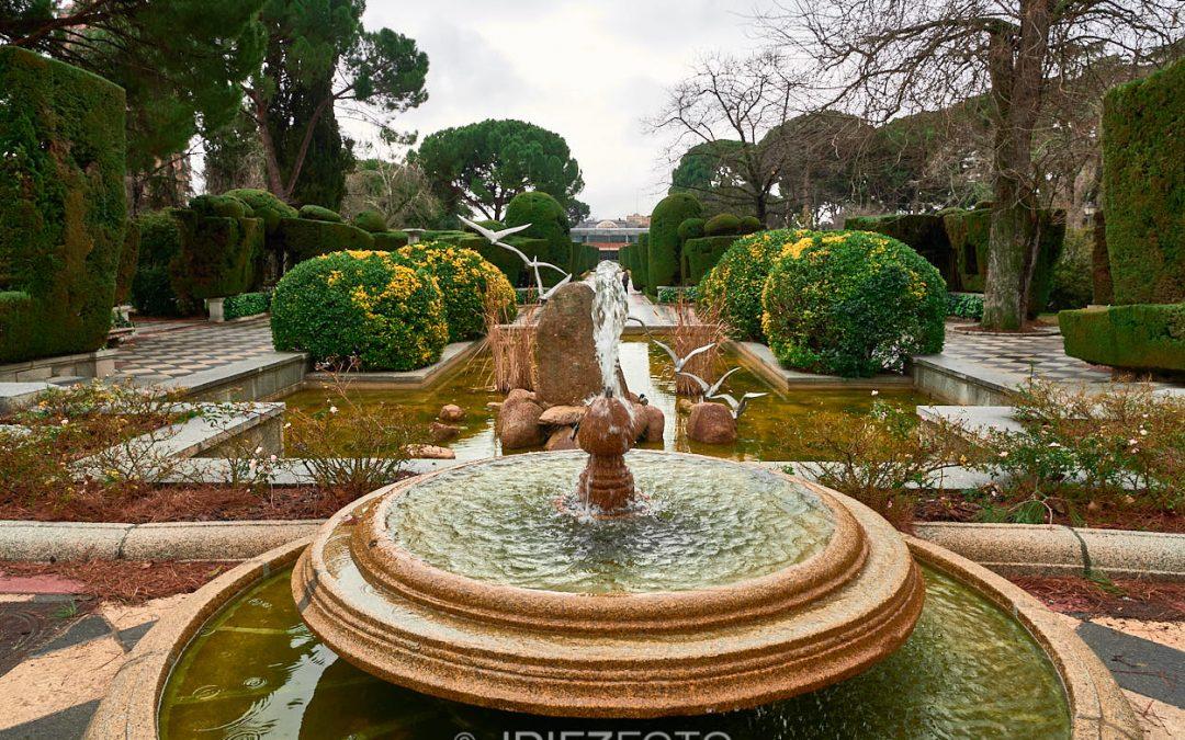 Fuentes de los Jardines de Cecilio Rodríguez. Parque del Retiro