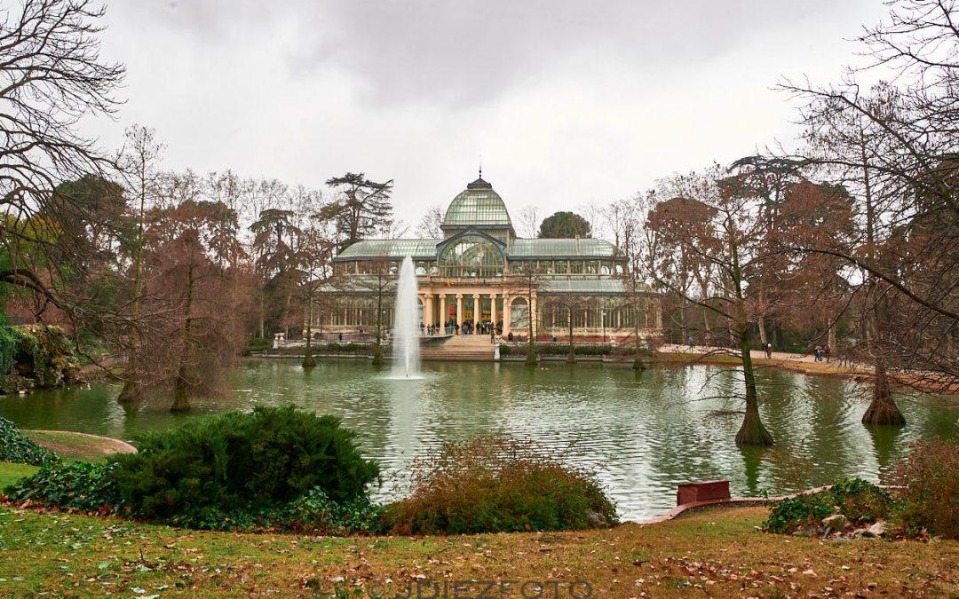 Palacio de Cristal en el Parque del Retiro