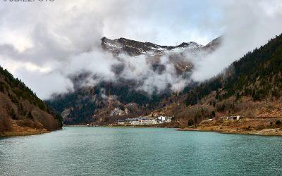 Paisajes de la frontera del Portalet con Francia en el Pirineo Aragonés