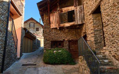 Visita a los pueblos de Unarre y Cerbi. Guingueta de Aneu