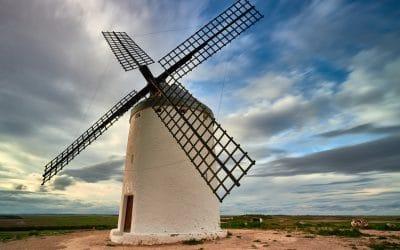 Visita a los molinos de viento de El Romeral