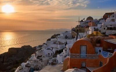 Recorrido por la localidad de Oia y su famosa puesta de sol. Santorini